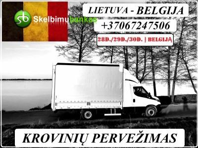 28d./29d./30d. IŠ LIETUVOS Į BELGIJĄ / Lietuva - BELGIJA
