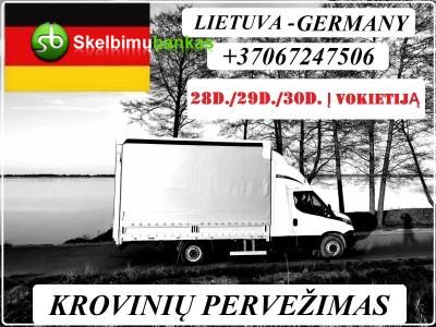 28d./29d./30d. IŠ LIETUVOS Į VOKIETIJĄ / Lietuva - VOKIETIJA
