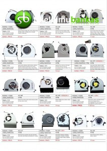 Nešiojamųjų kompiuterių aušintuvai, ventiliatoriai PIGIAUSIAI