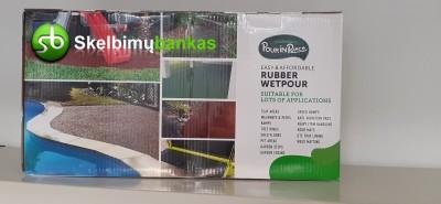 Rubber wetpour- pasidaryk pats rinkinys