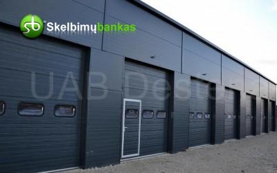 Nebrangūs Segmentiniai Garažo Vartai