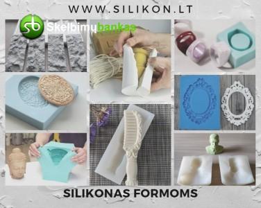 Silikonas formoms gaminti