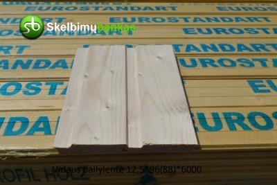 Dailylentės, grindinės, terasinės, tvoros lentos