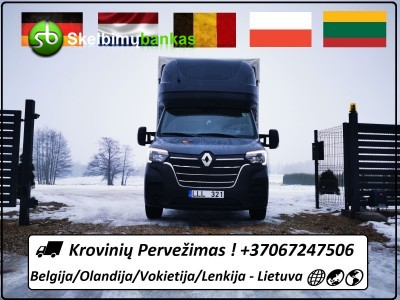 Iš Belgijos / Olandijos / Vokietijos / Lenkijos  į Lietuvą
